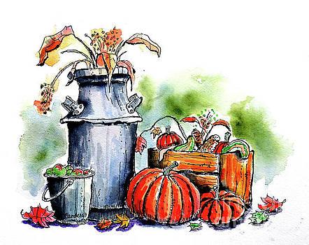 Autumn Still Life 1 by Terry Banderas