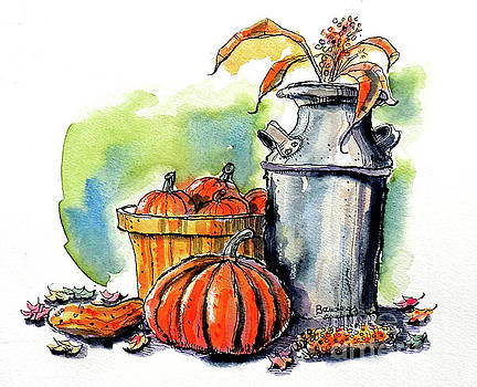 Autumn Still Life 2 by Terry Banderas
