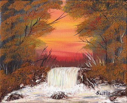 Autumn Stream by Jim Saltis