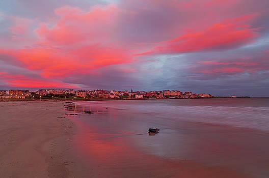 Autumn sunrise by Roy McPeak
