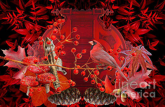 Autumn Surrealism Of Nature by Suzanne Powers