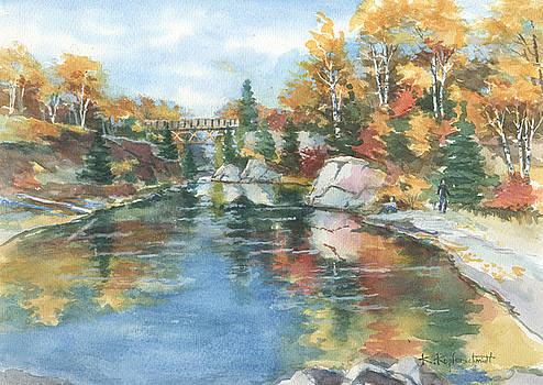 Autumn Tapestry by Kerry Kupferschmidt