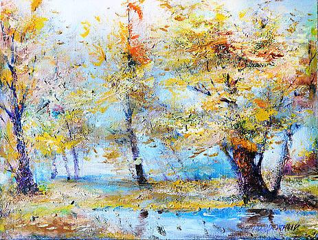 Autumn tenderness by Oleg  Poberezhnyi