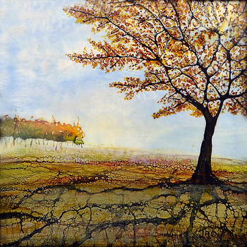 Autumn Trees by Jennifer  Creech
