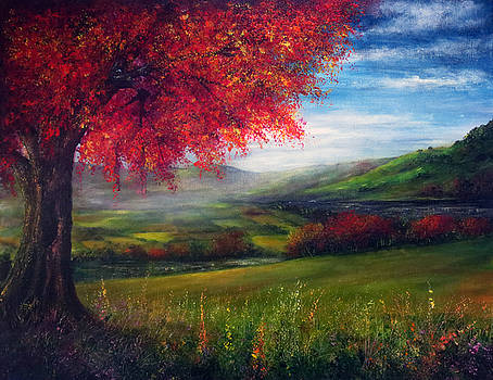 Autumn View by Ann Marie Bone