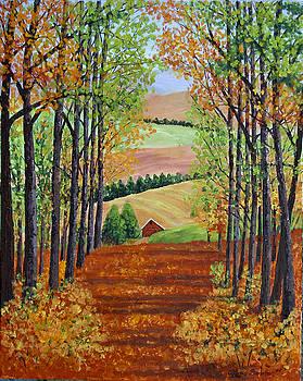 Autumn Walk by Alexis Baranek