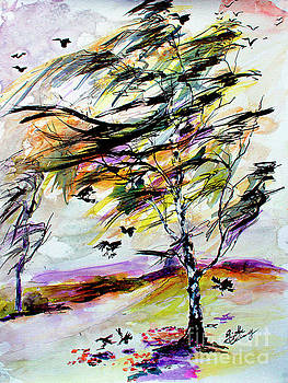 Ginette Callaway - Autumn Wind and Birds