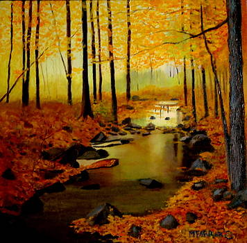 Autumn's Glow by Margaret Farrar