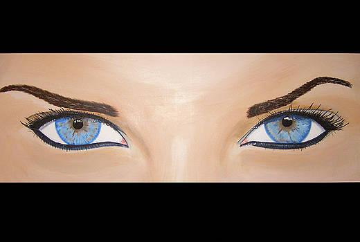 Aux yeux de la boucherie by Michael McKenzie