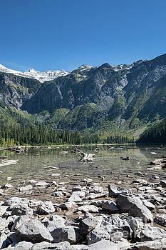 Avalanche Lake in Glacier National Park by Brandon Alms