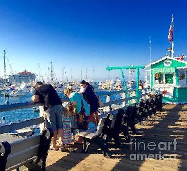 Avalon Pier by Diana Chason