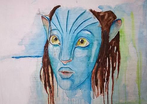 Avatar Interpretation.... by Jacqueline Schreiber