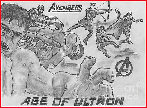 Avengers Age of Ultron by Chris  DelVecchio