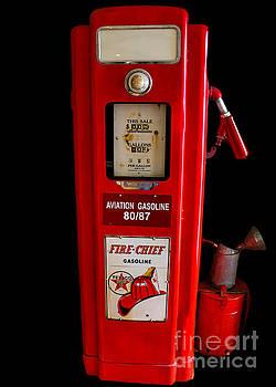 Aviation Fuel Pump by Mim White