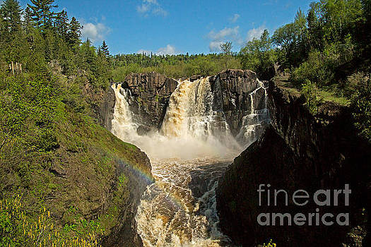 Awesome High Falls at Grand Portage Minnesota by Natural Focal Point Photography