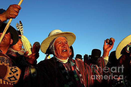 James Brunker - Aymara New Year Harvest Thanksgiving Bolivia
