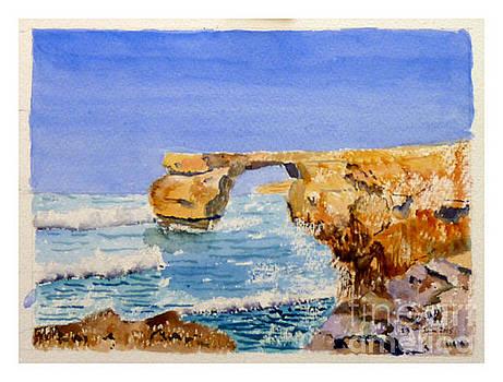 Azure Window by Godwin Cassar