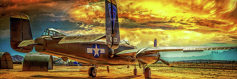 B-25 Mitchell Bomber by Steve Benefiel