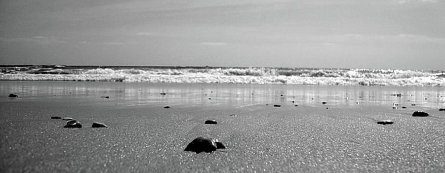 B-W Beach  by Peter McAuley