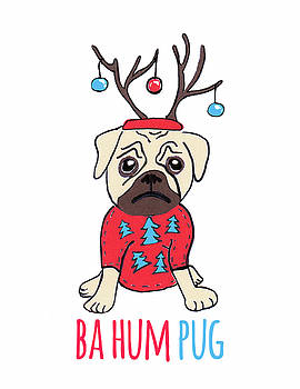 Ba Hum Pug by Nancy Harrison