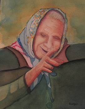 Babushka Lady by David Bartsch