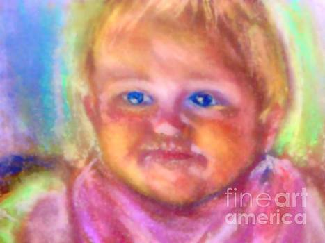 Baby Blue Eyes by Shirley Moravec