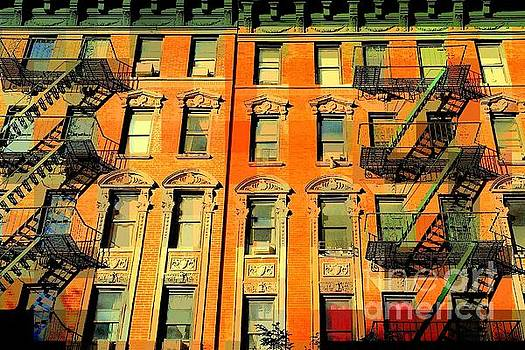 Baby Its Hot Outside - The Windows of Old New York by Miriam Danar