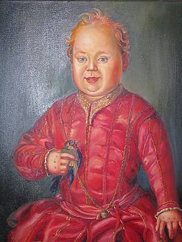 Baby Medici by Ekaterina Pozdniakova