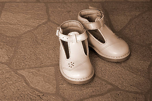 Baby Shoes by Kathy Schumann