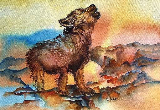 Baby Wolf by Donna Martin
