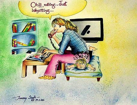 Babysitting by Tanmay Singh