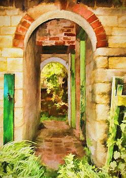 Back Alley. by ShabbyChic fine art Photography