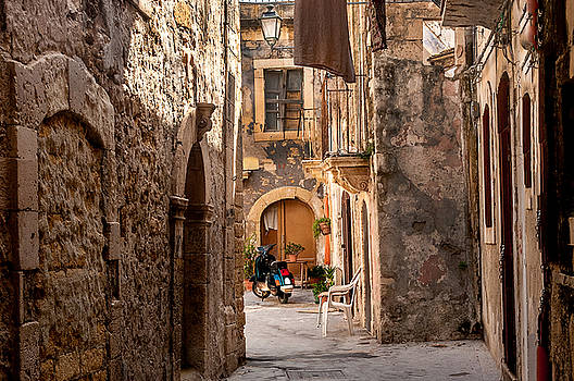 Back Alley Syracuse Sicily by Xavier Cardell