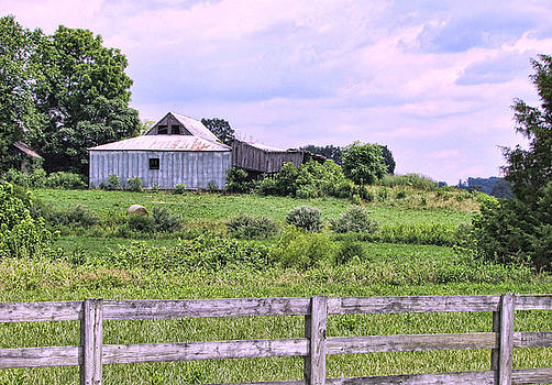 Back Road Barn by Victor Montgomery