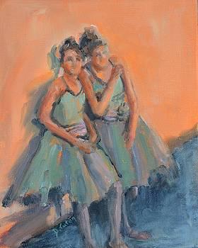 Backstage Ballerinas by Donna Tuten