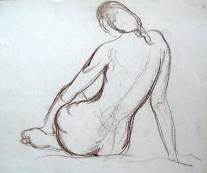 Backview Nude by Zois Shuttie