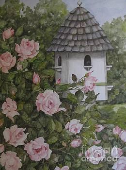 Backyard Birdhouse by Karen Olson