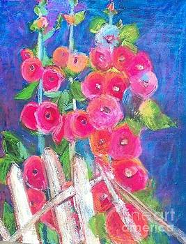 Backyard Poppies by Sherry Harradence