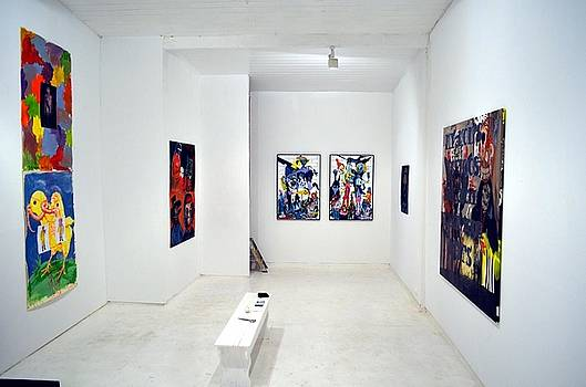 Bad painters exhibition by Rene Sinkjaer