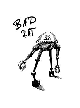 Bad Rat by Kim Gauge