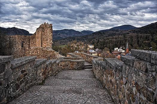 Baden Castle by Joachim G Pinkawa