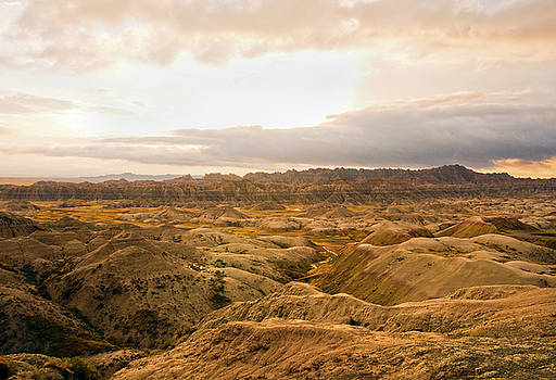Badlands II by Ron  McGinnis