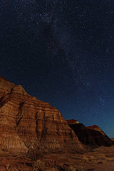 Badlands Night  by James Marvin Phelps