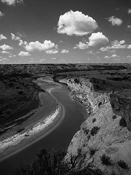 Badlands, North Dakota by Art Shimamura
