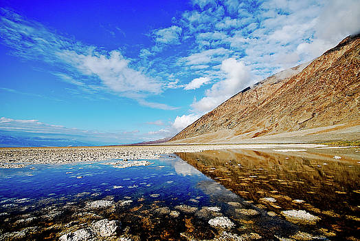 Badwater Basin by Zee Helmick