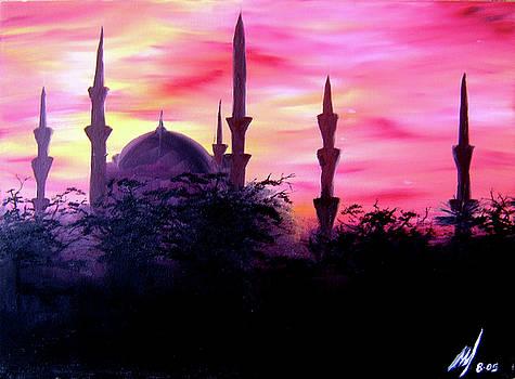 Baghdad Sunset by Michael McKenzie