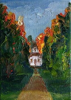 Baileys Harbor Range Light by Martha Layton Smith