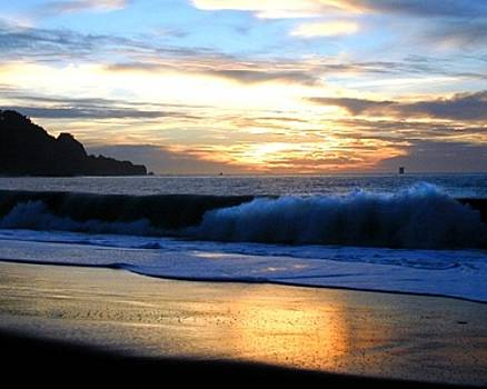 Baker Beach Sunset by Richard Nodine