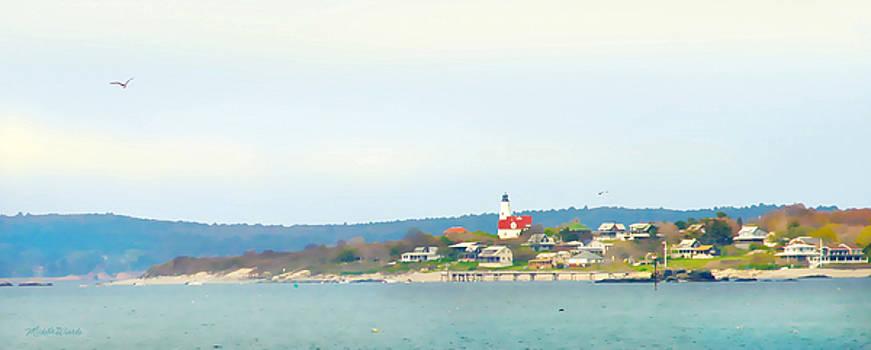 Michelle Wiarda - Bakers Island Lighthouse