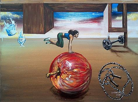 Balancing Health by Valdengrave Okumu